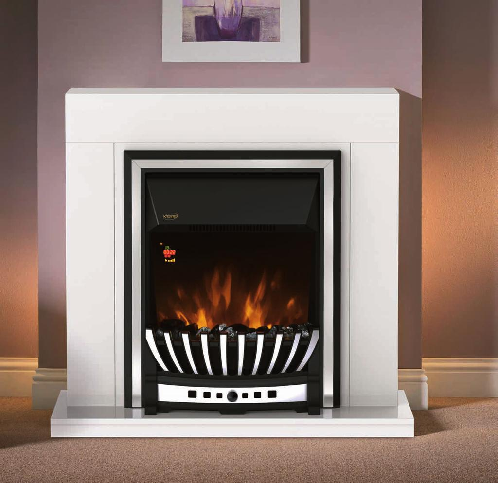 3kgs 363 750 855 NDY-19FR-E Freestanding or inset style Real coals flame effect Patented