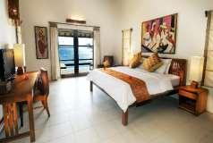 villas, rooms, restaurant, spa and professional dive