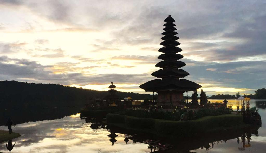 BEDUGUL AND NORTH BALI Home of the Balinese great lakes, Bedugul is a pleasant escape for South Bali day trippers.