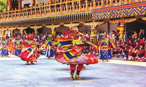 BHUTAN BHUTAN By Sim Kok Chwee Though best known as a cultural destination, Bhutan is beginning to see the need for product diversification.