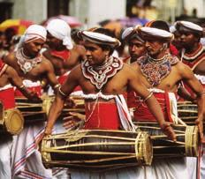 SRI LANKA q Esala Perahera the pilgrimage at least once in their lifetime. The season runs from December to May with the peak in March.