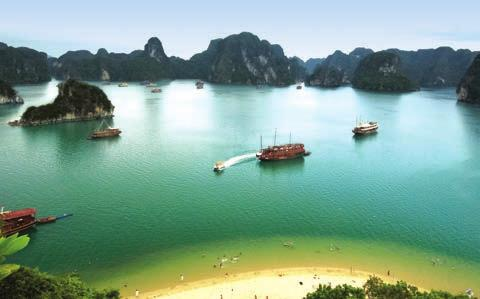 VIETNAM VIETNAM Compiled by Lou Darriet Positive growth is expected for Vietnam s tourism industry in 2014, thanks to strong economic development in key source markets.