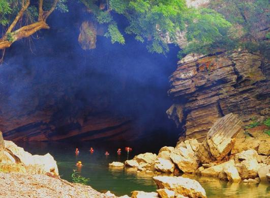 DISCOVER THE UNFORGETTABLE Go on a trek to Son Doong Cave or Tu Lan Cave, which can be accessed in one day and features a boat trip to more caves near Phong Nha.