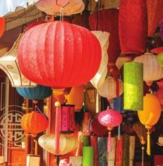 URBAN RETREAT u Beautiful lanterns during Mid-autumn Festival VIETNAM The Zen House Homestay, in Hue, dubbed Cat Tuong Quan, embraces the simple life and offers a peaceful environment for unification