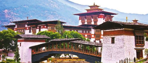 BHUTAN SPOTLIGHT ON BHUTAN WITH DIETHELM TRAVEL Bhutan has been known for cultural tourism, but now we are seeing the growth of activity tours leveraging the Kingdom s breathtaking mountain scenery.