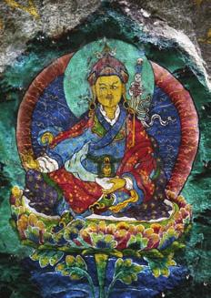 there, their sins will be purified by the holy water extracted by Lam Drukpa Kuenlay (the divine mad man).