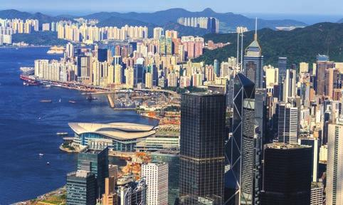 HONG KONG HONG KONG By Prudence Lui Encouraged by the continuous growth in visitor arrivals in recent years, Hong Kong Tourism Board (HKTB) projected high 8.