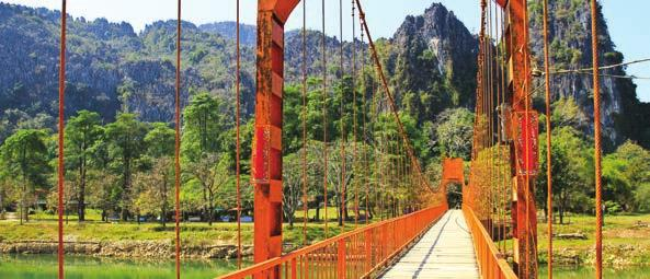 SPOTLIGHT ON LAOS WITH DIETHELM TRAVEL LAOS Laos offers the perfect environment to explore culture, nature or sporting activities.