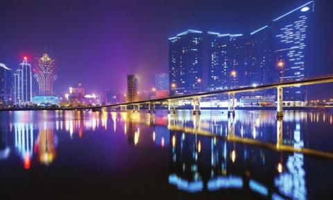 MACAU MACAU By Prudence Lui Visitor arrivals to Macau has continued to grow steadily and Macau Government Tourist Office (MGTO) is prudently optimistic that for 2014 and 2015, the number of visitor