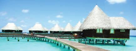 MALDIVES t Cluster of water villas New hotels in 2014 and 2015 2014 Maalifushi by COMO, Thaa Atoll, Maldives, 66 keys, January 2014 Amilla Fushi, Baa Atoll, 60 keys, November 2014 JA Manafaru, Haa