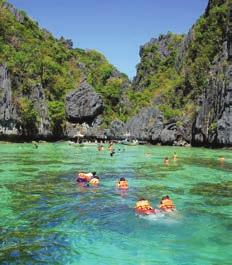 the UNESCO World Heritage Site Tubbataha reef, chasing surf breaks in Siargao, La Union or Aurora, or island hopping in El Nido and Calamianes.