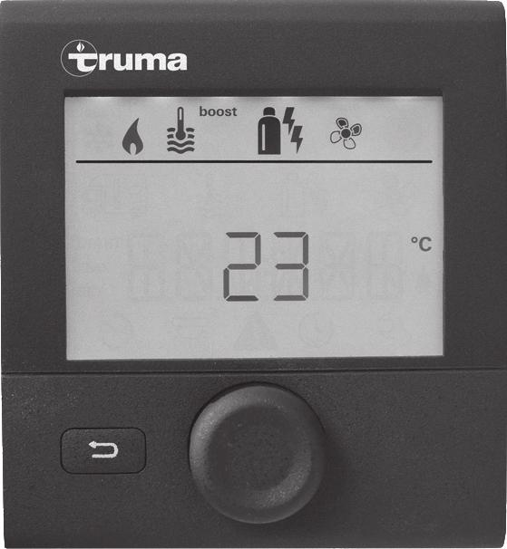 Safety instructions Operate the Truma CP plus VarioHeat control panel only if it is in a technically perfect condition. Repairs must be carried out immediately.