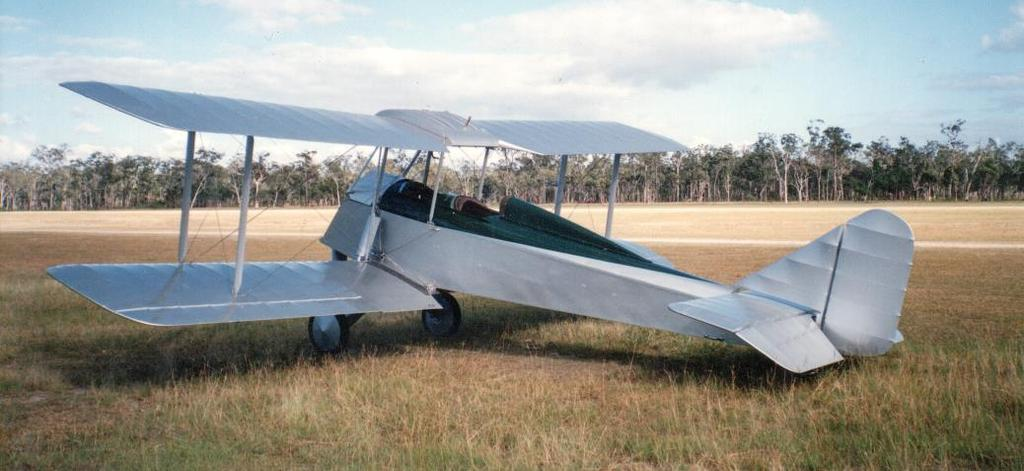 name Jaques Flying Services and operated out of Parafield. Matheson also purchased the sister ship C-AUFY.