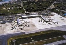 Air and Sea Connections Airport Connections (as of July 2001) SAPPORO Okinawa as the Hub of an International Network Serving as the southern gateway to Japan, Naha Airport has a 3,000-m runway, 25