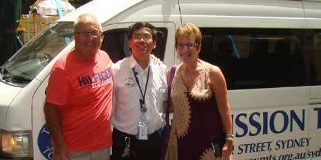 Susan and Norman Picton visit the Mission to Seafarers in Australia!