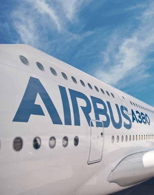 Airbus Widebody aircraft. Offering standard 18 inch wide seats in economy.