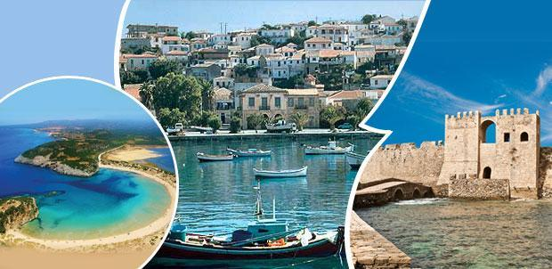 MESSINIA COASTAL BIKING TOUR COUNTRY: Greece LOCATION: Messinia South Peloponnese DEPARTURES: 2017, every Saturday from