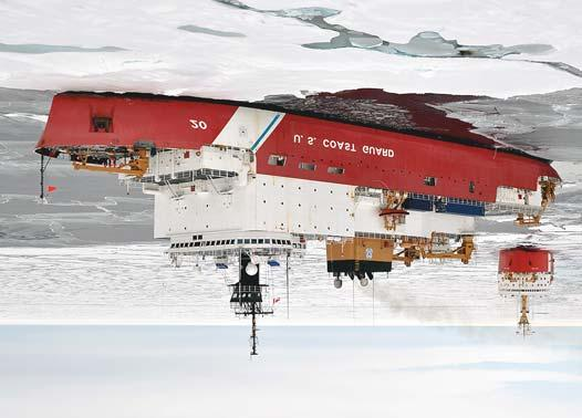 Polar icebreaker for the United States Coast Guard The United States Coast Guard launched an acquisition programme last year to replace two old heavy icebreakers with new polar icebreakers.