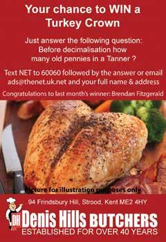 Your chance to WIN a meal for two people at fabulous Your best choice for