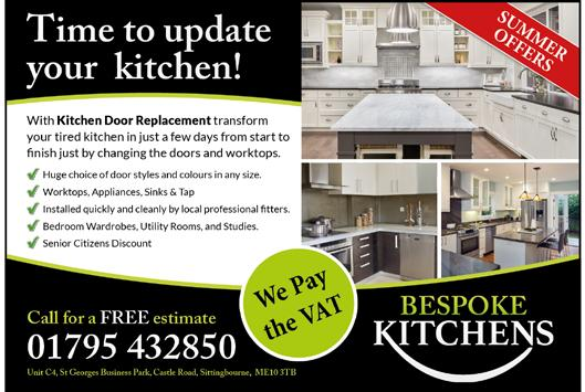 ORDER NOW FOR JANUARY SALE PRICES Also Complete Kitchens A bespoke service without bespoke price tag www.bespokekent.co.