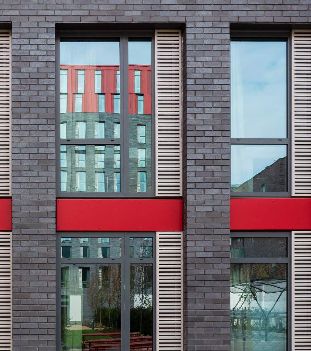 RESEARCH Senior project architect Matthew Gibbs of ArchitecturePLB explains how Taylor Maxwell became the supplier for the facing brick, rainscreen cladding and reconstituted cast stone used on the