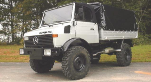 72/81 Unimog Airlift Adaptation The cheapest modification to the basic Unimog 1700L/38 and 2450L trucks
