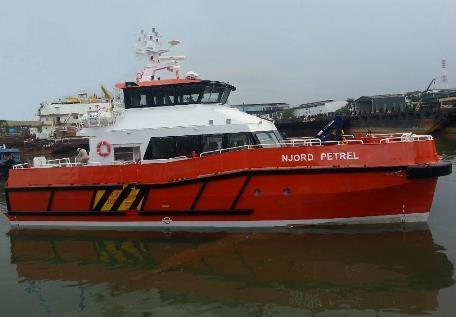 She is one of their ten crew transfer vessels of the offshore wind fleet.