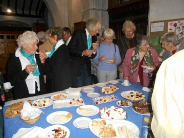 Simon thanked them as well as Deputy Churchwarden, Ann Marsh, on behalf of everyone for their hard work and dedication which enabled St Giles Church to play such an active and important role in the