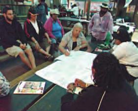 For Traditional Owner-driven planning there are lots of planning projects undertaken on our Country, but often they are being done by governments or Councils, and we are in a position of being