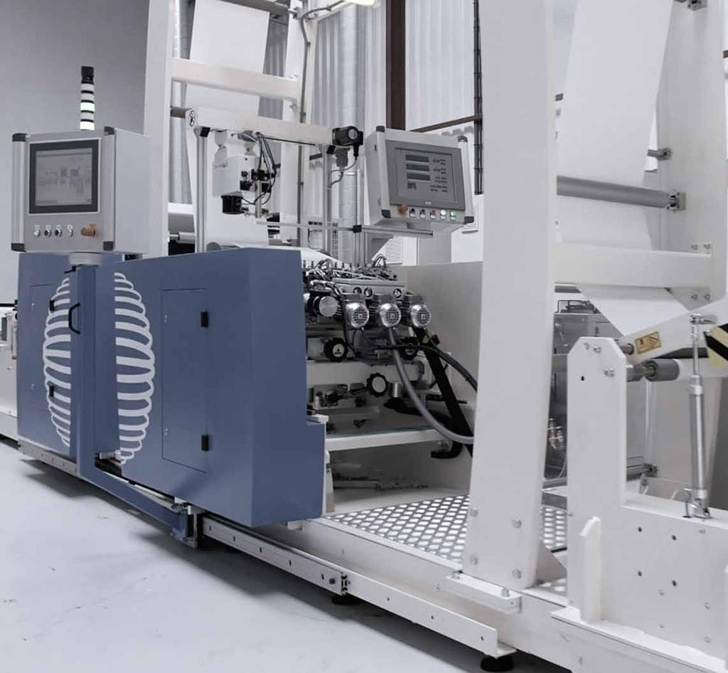 Coating & Converting Equipment Release and adhesive coating equipment for the worldwide label printing industry Maan Engineering Coating & Converting
