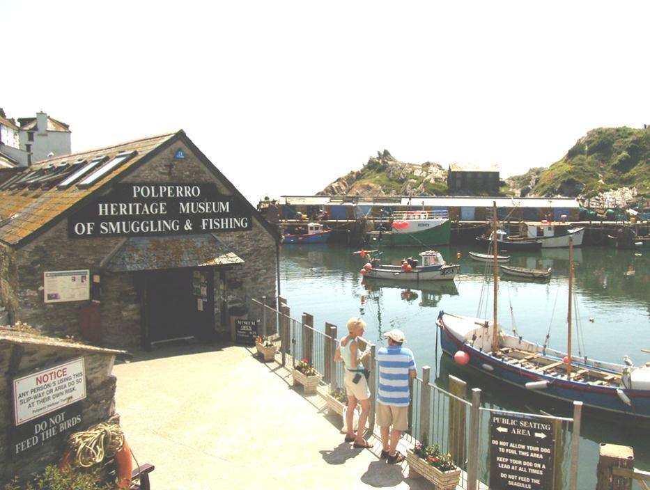 A former pilchard-processing plant, the Polperro Heritage Museum is now a tourist attraction. offender who my previous life s blood did shed.