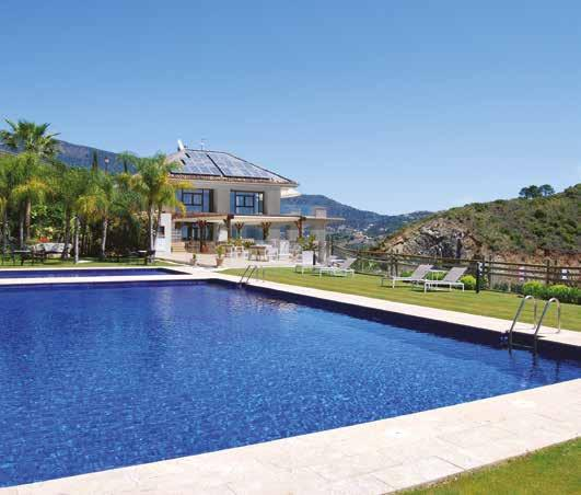 pools, jacuzzi, steam room and sauna; an outdoor pool with stunning views where you can not only