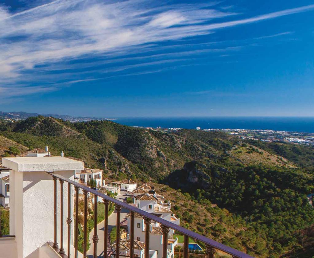 Located in a privileged position with spectacular views across the Mediterranean coastline.