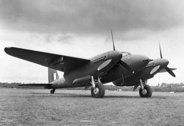 Something to Remember Part 4 A52-50 Mosquito fighter bomber used by No 5 OUT.