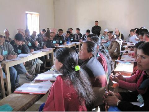 Nepal 2017 Teacher training or School building Volunteers