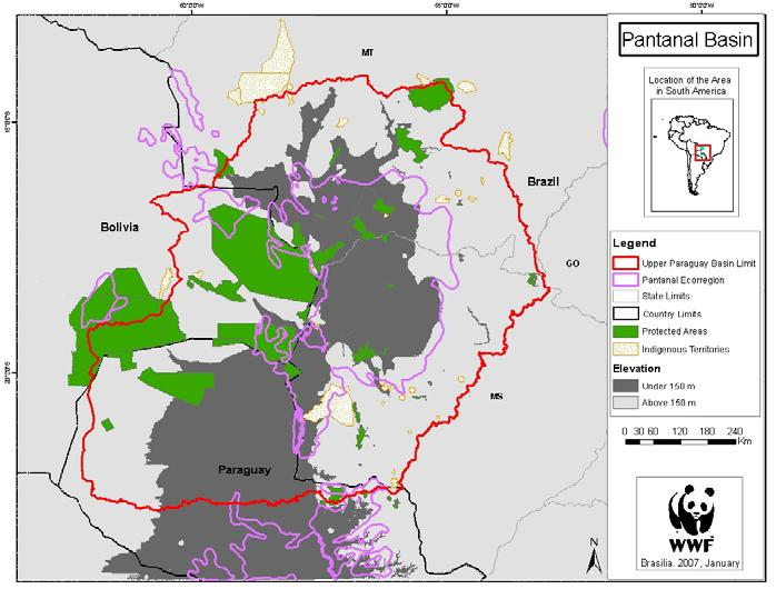 Protected areas They main objective are: 500.000 ha more of private reserves In MT and MS (actual 284.