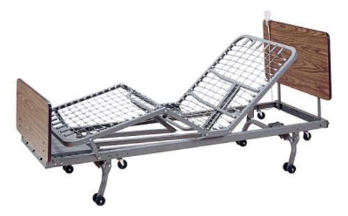Code n EQUIPMENT & FURNITURE DATA SHEET 3 sections hospital bed & Mattress BS-05 Easy to maintain homecare Manual Hospital Bed Features & Benefits Back and foot