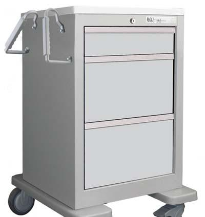 Code n EQUIPMENT & FURNITURE DATA SHEET Medical examination cart Stabilizer system to prevent cart from tipping over. approx.