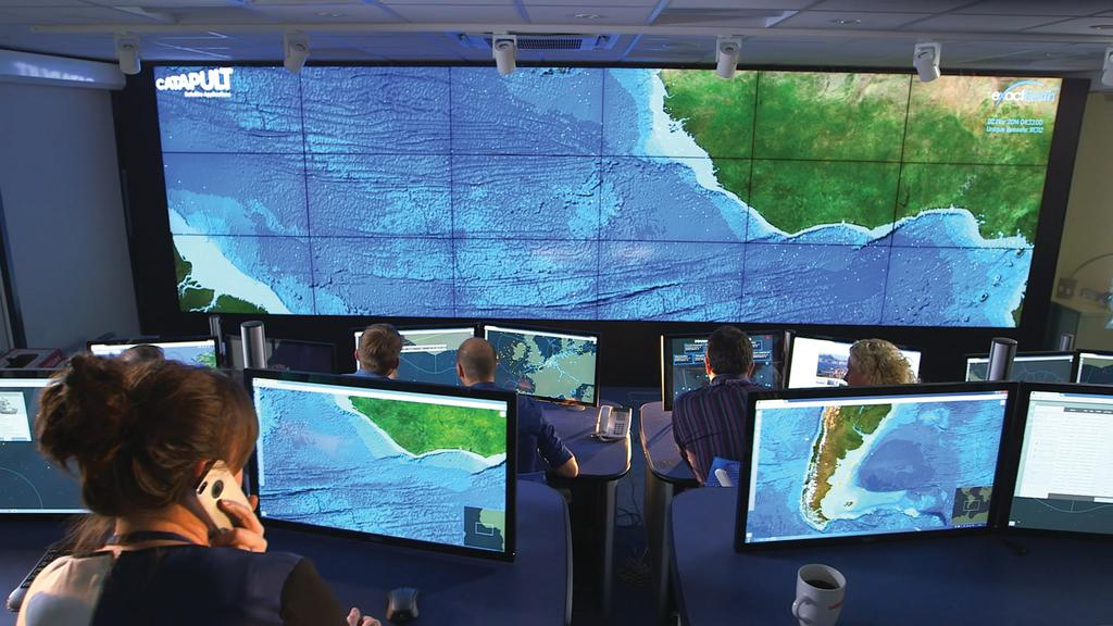 Satellite Applications Catapult Project Eyes on the Seas The Pitcairn Islands Marine Reserve sets a new standard for monitoring