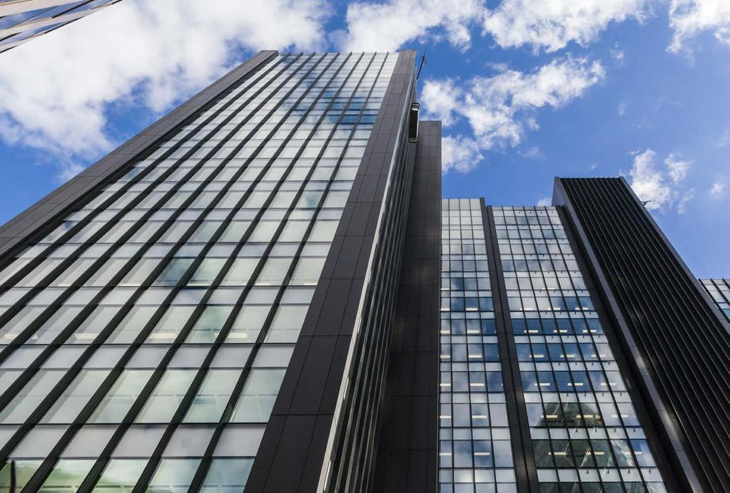 ONE CREECHURCH PLACE, EC3 272,505 sq ft offices (17 floors) Completed November 2016 Let 48% 115,910 sq ft Hyperion (11-17 th floors) 15,969 sq ft Travelers (3 rd floor)