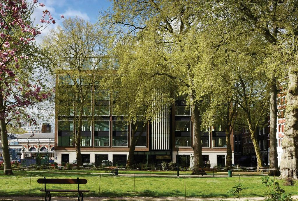 25 CHARTERHOUSE SQUARE, EC1 38,355 sq ft offices 5,138 sq ft retail/restaurant Completed March 2017 6 th Floor 75 psf Anomaly 5 th Floor 75 psf Anomaly 4 th Floor 75 psf