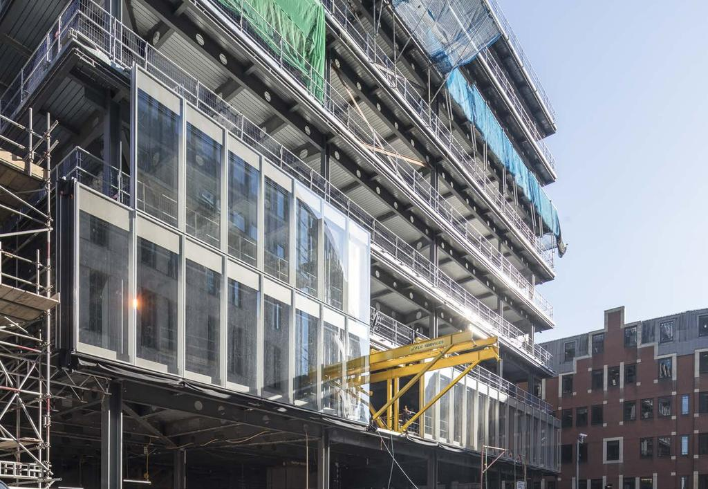 ONE BARTHOLOMEW CLOSE, EC1 213,125 sq ft offices Completion August 2018 Funding Partner -