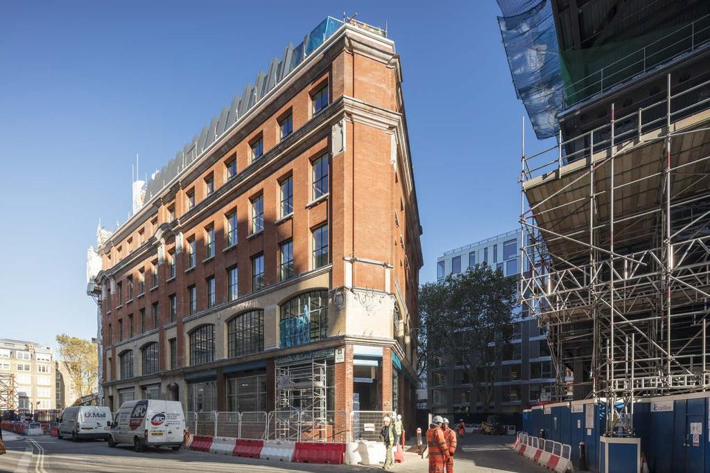 90 BARTHOLOMEW CLOSE, EC1 24,013 sq ft offices and 6,449 sq ft restaurant unit Completion December 2017