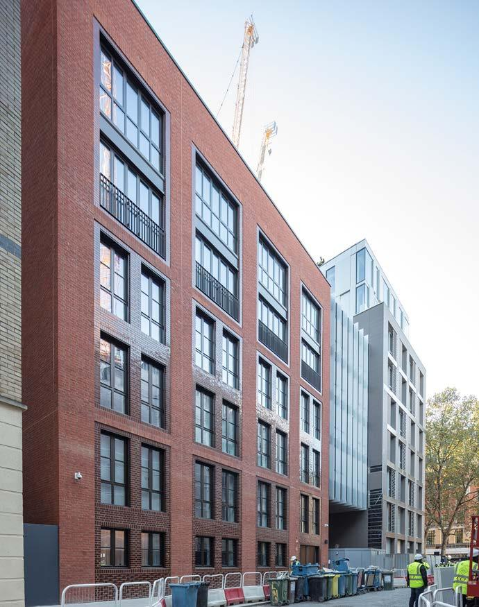 BARTS SQUARE, EC1 PHASE 1 144 residential units (plus 3,193 sq ft retail) 128 sold (12 in the period) Average sales price - 1,565 psf 3 units reserved 13 units available 13 sales