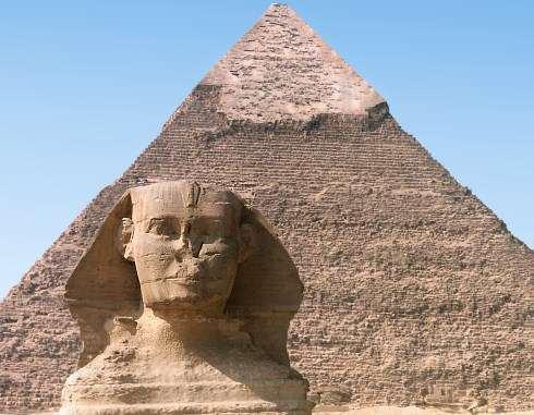 The Old Kingdom (2700-2200 BC) Pharaohs claimed divine support for their rule and used this to help create
