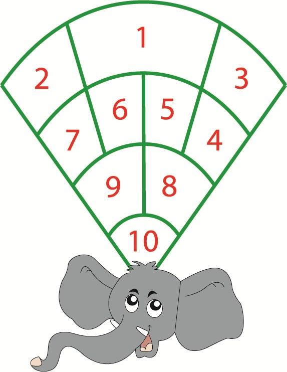 Playground Markings Elephant