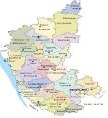 KARNATAKA FACT FILE Some of the prominent cities in the state are Ankola, Bengaluru, Bagalkot, Belgaum, Bidar, Bijapur, Chikmagalur, Chitradurga, Dandeli, Hubli-Dharwad, Mangalore, Mysore and Shimoga.