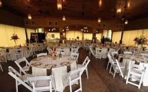 provide ideal space for altar, band stage, buffet or appetizer display, cake table, or bar Drop-pendant speaker system and wireless