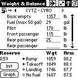 The Weight & Balance and Flight Plan forms display separate subforms for each segment. Display the next segment. Display the previous segment. Copy data from the previous segment.