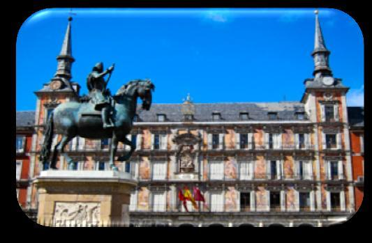 MADRID HALF DAY 3h 165 Visit Madrid the 9th century to the 21st century, cross the city West to East.